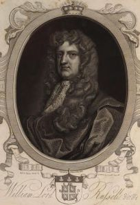 Lord William Russell before Jack Ketch botched his execution