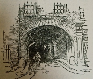 The arches underneath the Adelphi formed a warren of dark streets