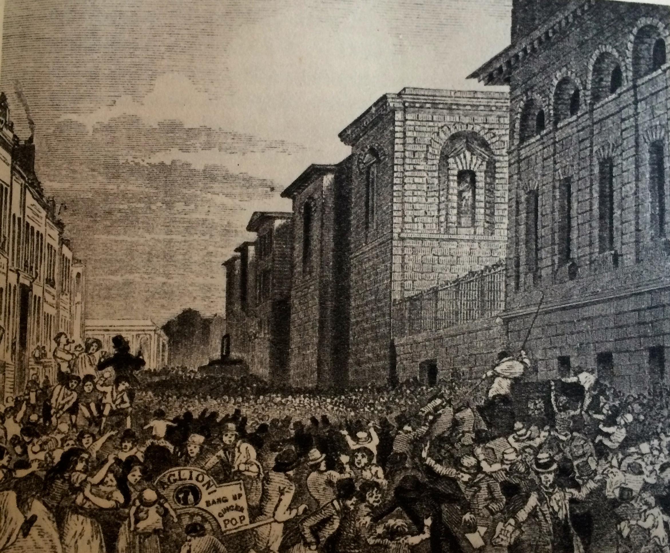 Newgate Prison Public Hangings In Victorian London