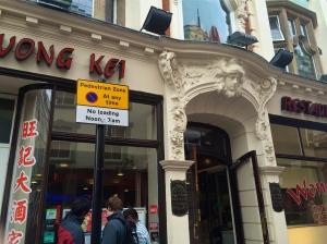 Wong Kei Chinese restaurant