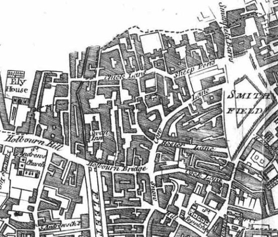Black Boy Alley was where a gang operated from in Georgian London